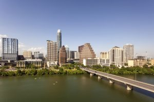 downtown austin high-rise moving