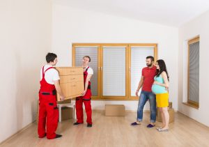 movers providing white glove delivery services
